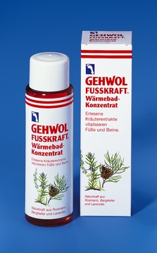 GEHWOL FUSSKRAFT WARMEBAD Hřejivá koupel 150 ml