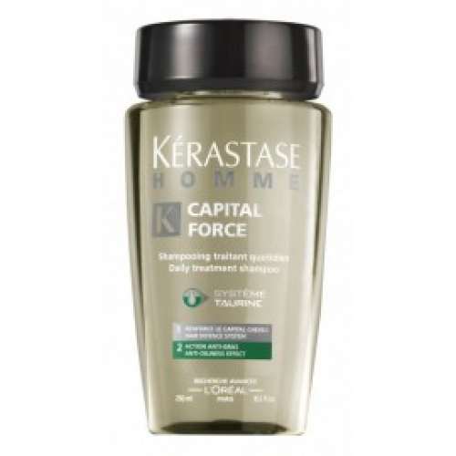 KÉRASTASE  Homme  Bain Capital Force Anti-Oiliness šampon 250ml