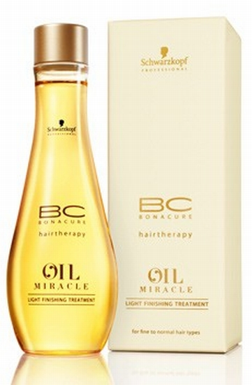 Schwarzkopf BC Bonacure Oil Miracle Light Finishing Treatment 100 ml