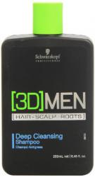 Schwarzkopf Professional [3D] Men Deep Cleansing Shampoo 250 ml