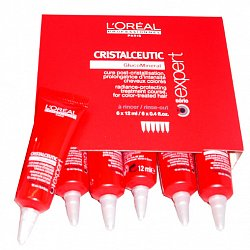 LOREAL  PROFESSIONNEL  Série Expert  Cristalceutic treatment ampulky 6x12 ml