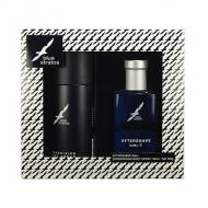 BLUE STRATOS Dárková kazeta voda po holení 50ml+Body Spray 150 ml