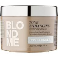 Schwarzkopf Professional Blondme Tone Enhancing Bonding Mask Cool Blondes 200 ml 190