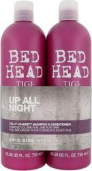 TIGI Bed Head Fully Loaded Shampoo 750 ml & Conditioner 750 ml dárková sada